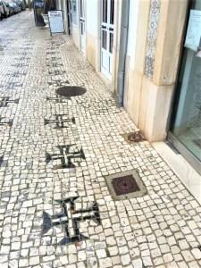トマールの石畳