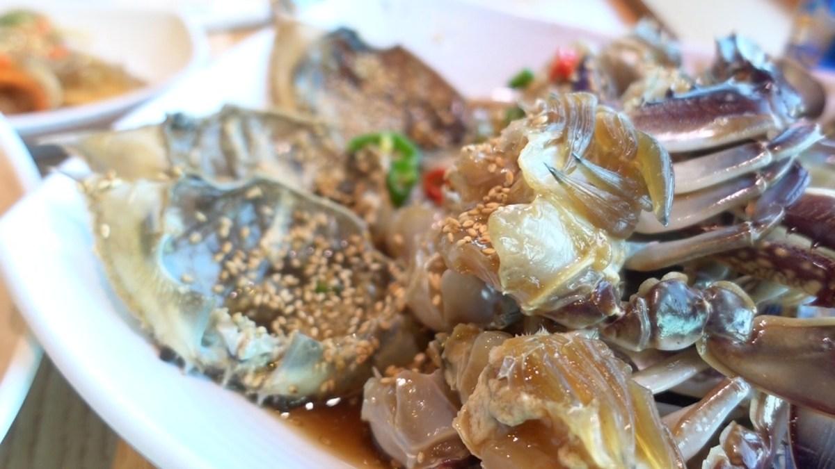 釜山でカンジャンケジャンが食べ放題!食べ過ぎ注意⁉️【コッケワサランエパジダ海雲台】