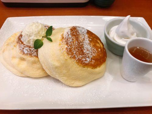 茶寮煉 ホットケーキ