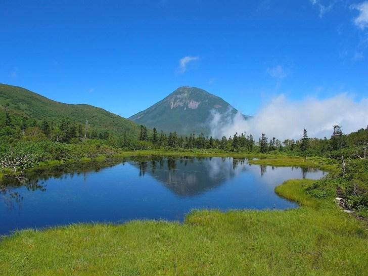 羅臼湖歩道・三の沼