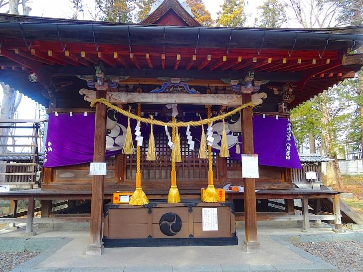筑摩神社本殿
