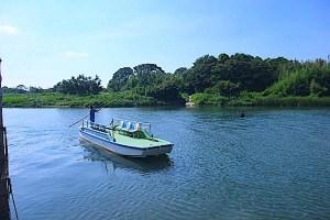 牛川渡船(牛川の渡し)