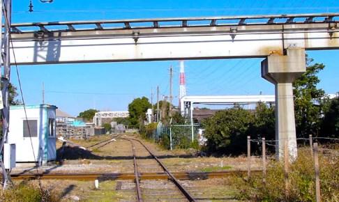 名電築港駅(ダイヤモンドクロス)