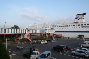 名古屋港フェリー埠頭(名古屋港フェリーターミナル)