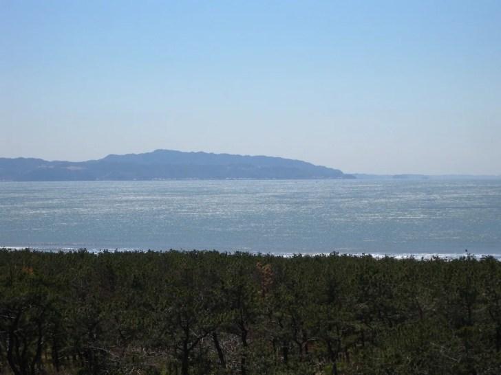 中の島展望台(富津元洲堡塁砲台跡)