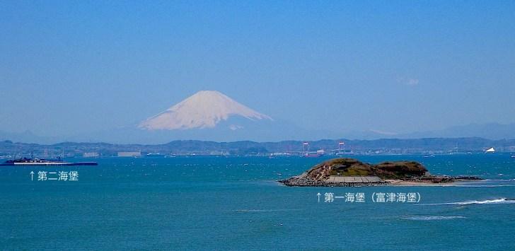 東京湾 第一海堡・第二海堡