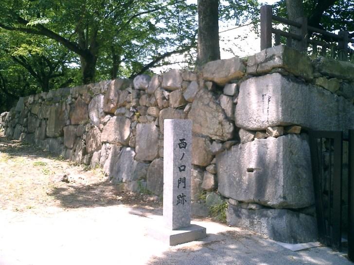 小倉城・西ノ門跡