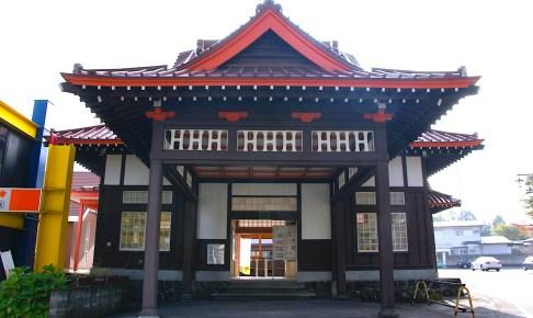 旧草軽電鉄北軽井沢駅駅舎