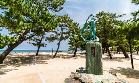 大浜海岸(大浜海水浴場)
