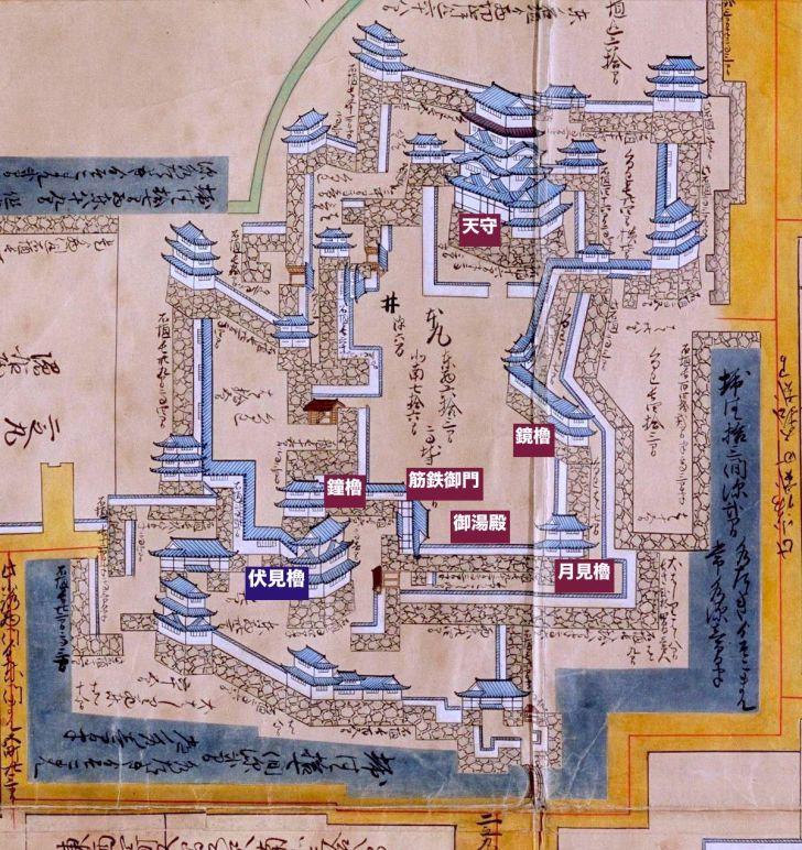 福山城・本丸
