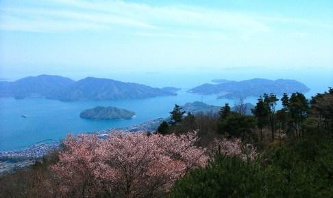 かぶと岩展望台(野呂山)