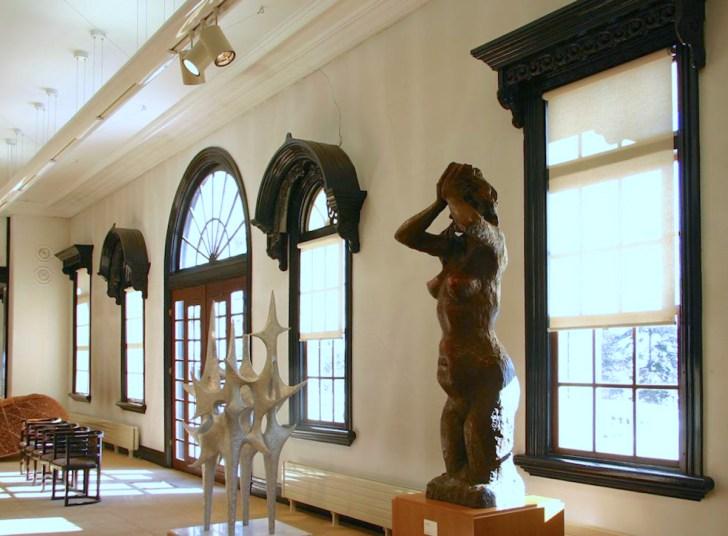 中原悌二郎記念旭川市彫刻美術館(旧旭川偕行社)