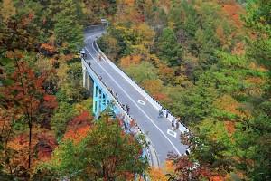 中津川渓谷・中津川橋