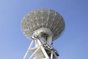 内之浦宇宙空間観測所・34mパラボラアンテナ