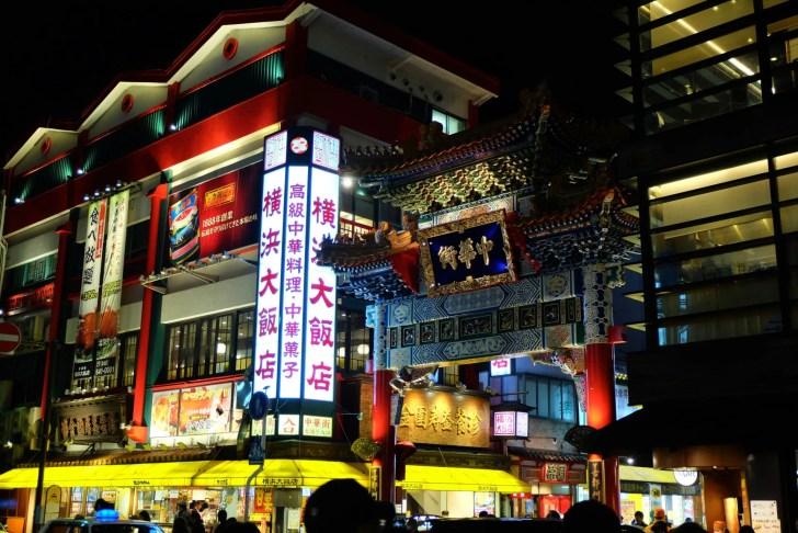 横浜中華街・善隣門