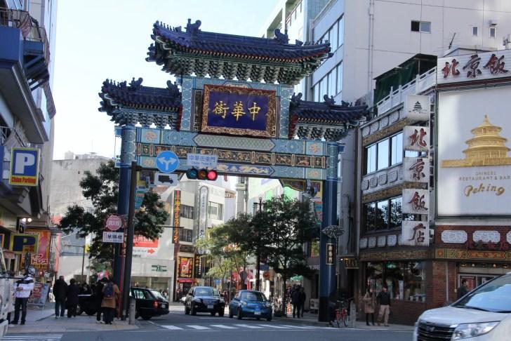 横浜中華街・朝陽門