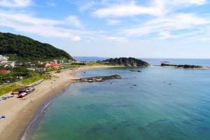 長者ヶ崎・大浜海岸(大浜海水浴場)