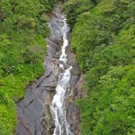 祝口観音の滝