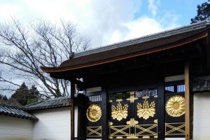 醍醐寺三宝院・唐門