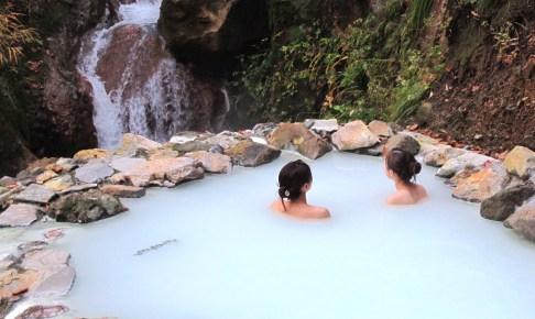 燕温泉 河原の湯