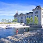 荷揚げ場(旧新潟税関庁舎)