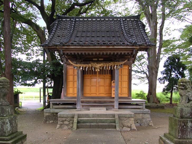 前島神社(河井継之助・開戦決意の地)