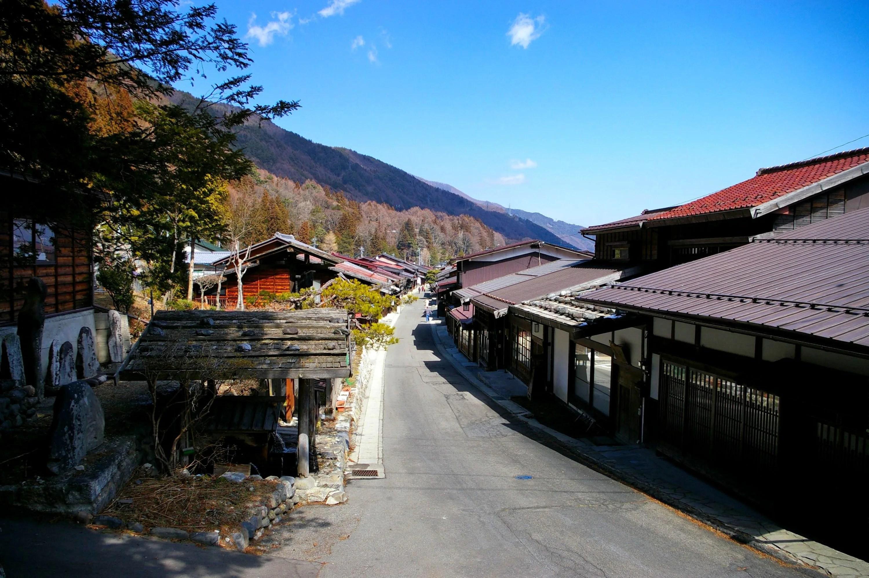 奈良井宿(塩尻市奈良井重要伝統的建造物群保存地区)