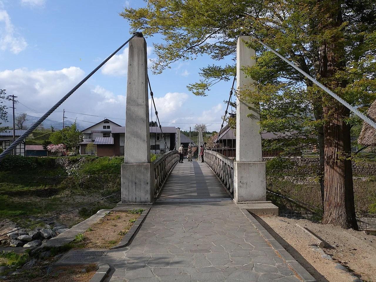 大出の吊橋