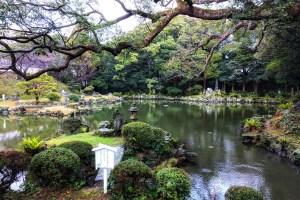 五島氏庭園・隠殿屋敷