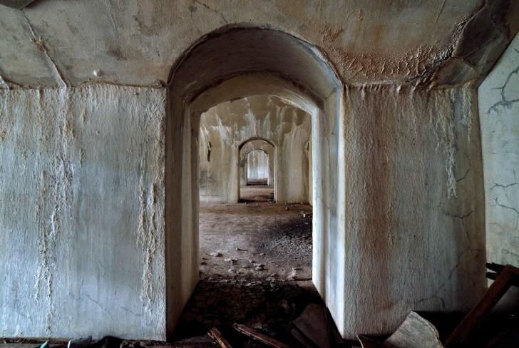 旧陸軍佐世保要塞・小首堡塁跡