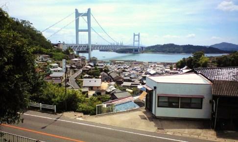 鷲羽山駅跡・展望デッキ