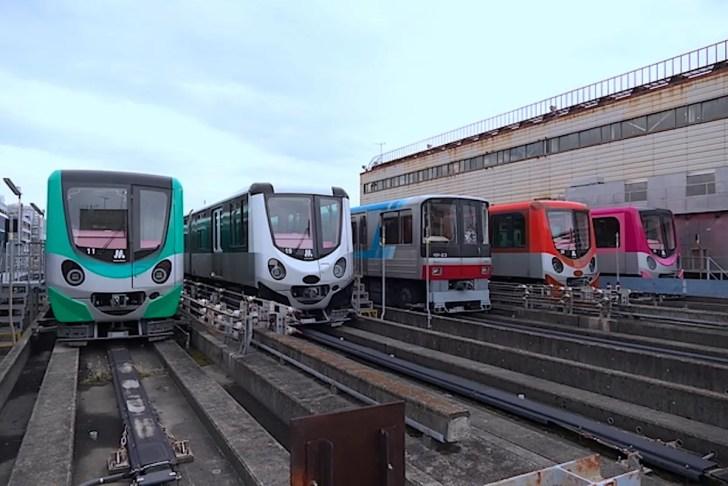 Osaka Metro南港ポートタウン線(ニュートラム)