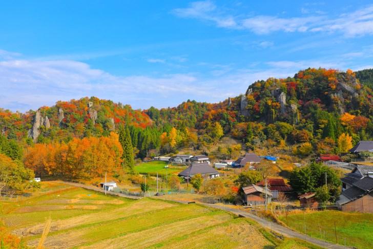 立羽田の景(裏耶馬溪)