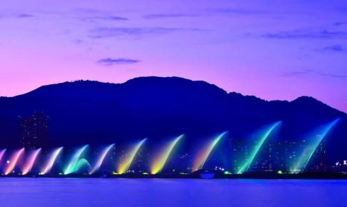 びわ湖花噴水