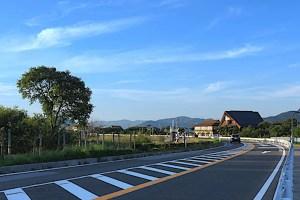 さざなみ街道(湖周道路)
