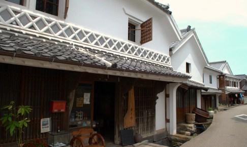 肥前浜宿酒蔵通り(鹿島市浜中町八本木宿伝統的建造物群保存地区)