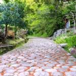旧東海道金谷坂石畳