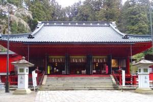 二荒山神社・拝殿