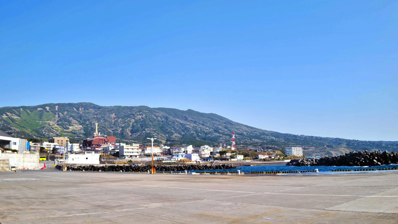 伊豆大島・元町港