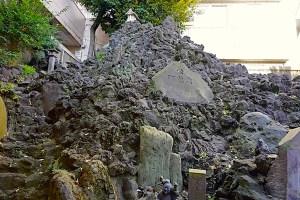 鉄砲洲富士(鐵砲洲稲荷神社)