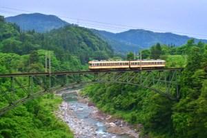 富山地方鉄道・千垣橋梁