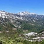 立山カルデラ展望台