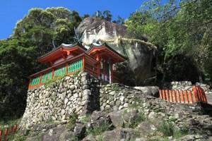 神倉神社(ごとびき岩)