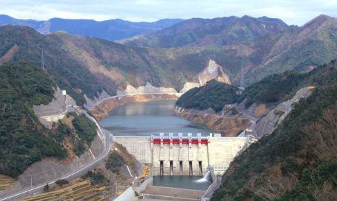 椿山ダム(椿山ダム湖)