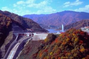 月山湖(寒河江ダム)