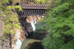 八ツ沢発電所施設第一号水路橋