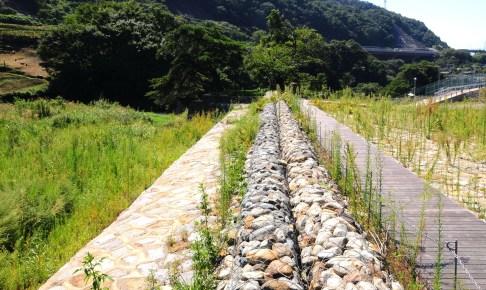 日川水制群