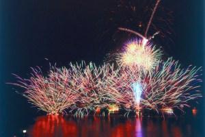 湖水祭花火大会