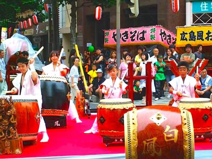千葉の親子三代夏祭り