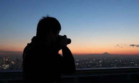 サンシャイン60展望台『ダイヤモンド富士屋上撮影会』